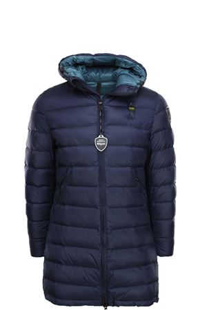 Long down jacket with hood BLAUER | -438152340 | BLUK03019005046888