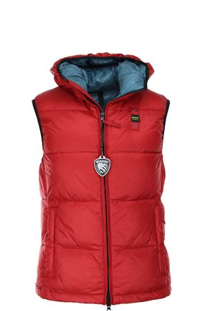 SLEEVELESS DOWN JACKET with hood BLAUER | 47 | BLUX03018005046552