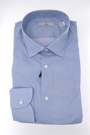 Camicia manica lunga cotone microfantasia GHIRARDELLI | -880150793 | P68B508GH46603