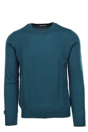 Pullover girocollo lana merinos con toppe Gran Sasso | 435618598 | 5518714270465