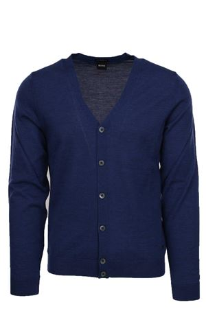 Cardigan bottoni lana merinos HUGO BOSS | 435618598 | MARDON0668477