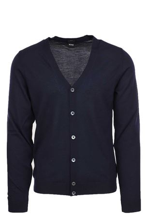 Cardigan bottoni lana merinos HUGO BOSS | 435618598 | MARDON0668480