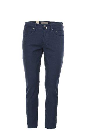 Pantalone 5 tasche cotone stretch con toppe Siviglia | 146780591 | 21I3S3030001