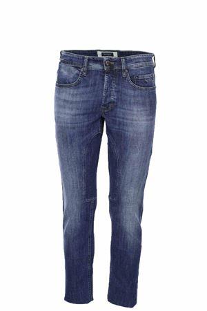Jeans denim stretch 5 tasche con toppa Siviglia | 4 | 21M2S4786002