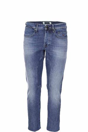 Jeans denim stretch 5 tasche con toppa Siviglia | 4 | 21O2S4126006