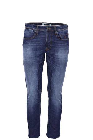 Jeans denim stretch 5 tasche con toppa Siviglia | 4 | 21Q2S4126005