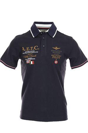 Polo mezza manica cotone piquet Aeronautica Militare | 34 | PO135308184