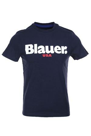 Blauer print half sleeve t-shirt BLAUER | 34 | BLUH02149004547888