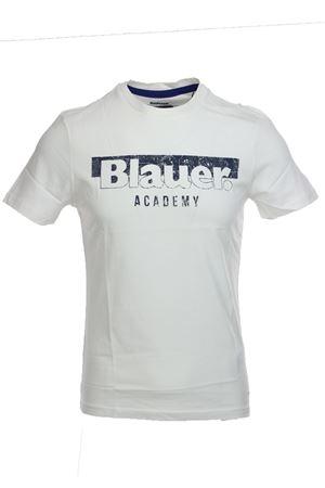 T-shirt uomo mezza manica Blauer Academy BLAUER | 34 | BLUH02154004547119