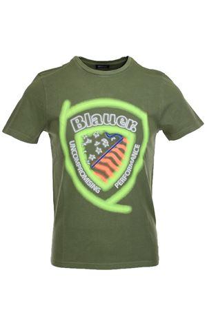 T-shirt mezza manica stampal fluo BLAUER | 34 | BLUH02321005321644