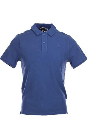 Piqué cotton half sleeve polo shirt BLAUER | 34 | BLUT02129005272876
