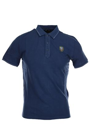 Piqué cotton half sleeve polo shirt BLAUER | 34 | BLUT02174004865883