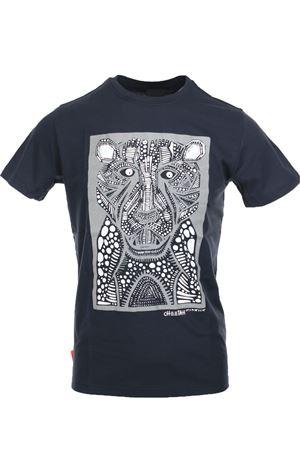 T-shirt uomo mezza manica stampa CHEETAH RRD | 34 | 1906860