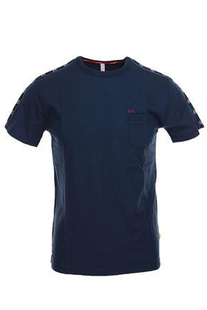 Tshirt mezza manica con banda logata SUN68 | 34 | T1910407