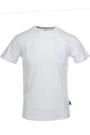 Tshirt mezza manica con taschino SUN68 | 34 | T1910701