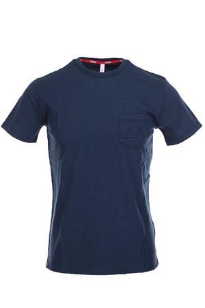 Tshirt mezza manica con taschino SUN68 | 34 | T1910707