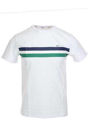 Tshirt mezza manica bande colorate SUN68 | 34 | T1910801