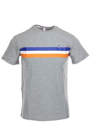 Tshirt mezza manica bande colorate SUN68 | 34 | T1910834