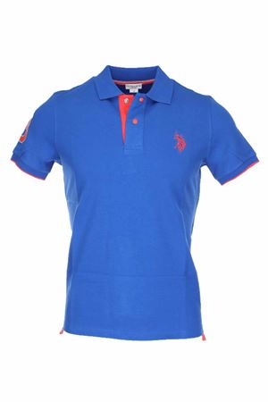 Polo mezza manica piquet cotone US Polo Assn | 34 | 5124941029173