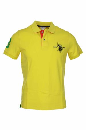 Polo mezza manica numero 3 piquet stretch US Polo Assn | 34 | 5126750336111
