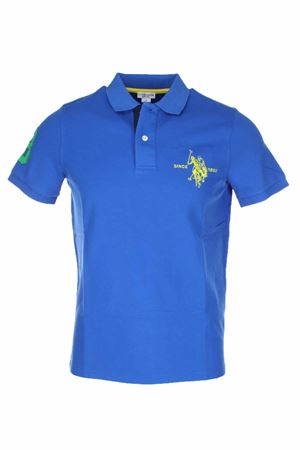 Polo mezza manica numero 3 piquet stretch US Polo Assn | 34 | 5126750336173