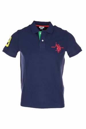 Polo mezza manica numero 3 piquet stretch US Polo Assn | 34 | 5126750336177