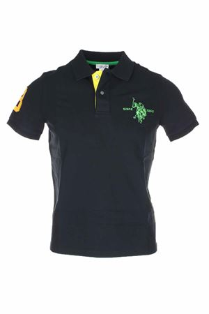 Polo mezza manica numero 3 piquet stretch US Polo Assn | 34 | 5126750336199