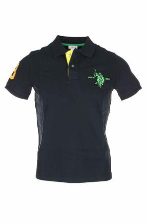 Polo mezza manica numero 3 piquet stretch US Polo Assn | 19 | 5126750336199