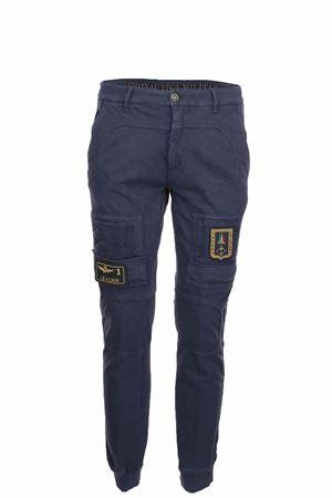 Pantalone cargo con tasconi in cotone Aeronautica Militare | 146780591 | PF74308184