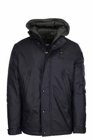 Down jacket with hood BLAUER | 925341562 | BLUC02378005594888