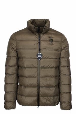 HARVEY SOLID COLOUR DOWN JACKET BLAUER | 925341562 | BLUC03031004938341