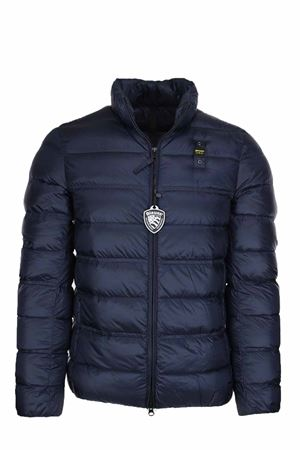 HARVEY SOLID COLOUR DOWN JACKET BLAUER | 925341562 | BLUC03031004938888