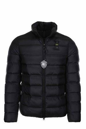 HARVEY SOLID COLOUR DOWN JACKET BLAUER | 925341562 | BLUC03031004938999