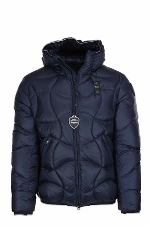 PEARSON DOWN JACKET WITH HOOD BLAUER | 925341562 | BLUC03049004938888