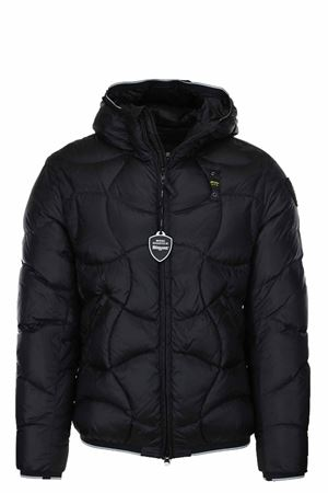 PEARSON DOWN JACKET WITH HOOD BLAUER | 925341562 | BLUC03049004938999