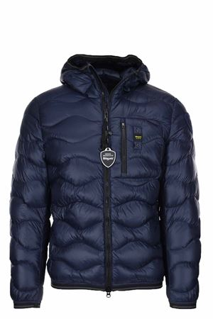 BOOTH WAVE DOWN JACKET BLAUER | 925341562 | BLUC03056004719888