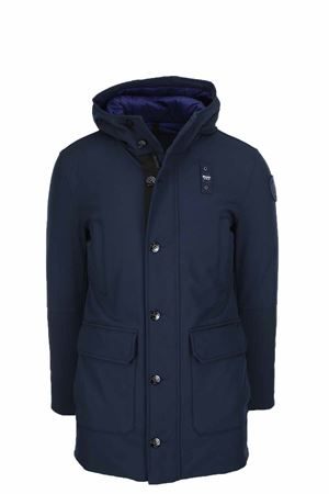 Long down parka with attached hood BLAUER | -438152340 | BLUK03192005553888