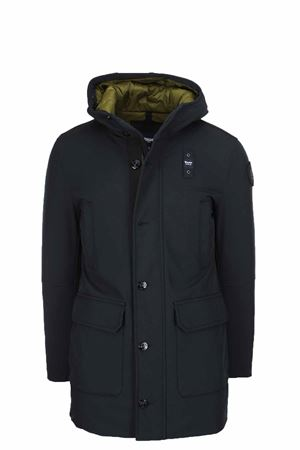 Long down parka with attached hood BLAUER | -438152340 | BLUK03192005553999