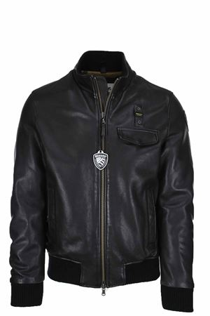 Leather padded bomber BLAUER | 18 | BLUL01282005570999