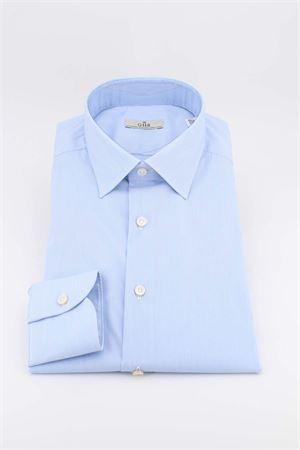 Camicia cotone microriga G.H.R. | -880150793 | P168B508GHE61601