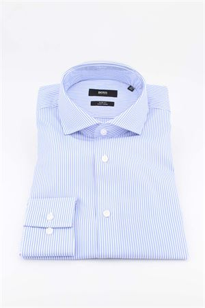 Camicia manica lunga cotone collo francese HUGO BOSS | -880150793 | JASON0144452