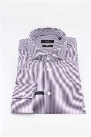 Camicia manica lunga cotone collo francese HUGO BOSS | -880150793 | JASON0144507