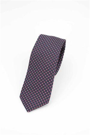 Cravatta pura seta microfantasia HUGO BOSS | -1559895662 | TIE751069625