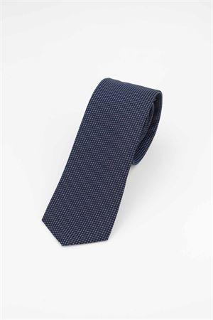 Cravatta pura seta microfantasia HUGO BOSS | -1559895662 | TIE751118403