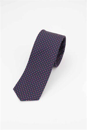 Cravatta pura seta microfantasia HUGO BOSS | -1559895662 | TIE751118626
