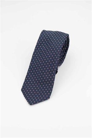 Cravatta pura seta microfantasia HUGO BOSS | -1559895662 | TIE751119627