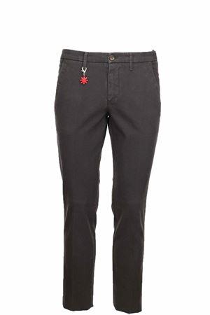 Pantalone cotone microfantasia stretch Manuel Ritz | 146780591 | 2732P1888T19381629