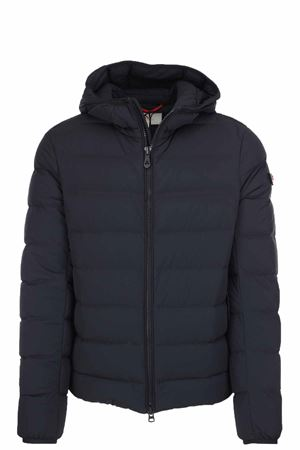 SLIM FIT DOWN JACKET IN NYLON AND JERSEY KENOBI Peuterey | 925341562 | KENOBIAG03NER