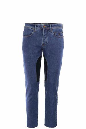 Jeans denim toppe in alcantara Siviglia | 4 | 21M3S4426002