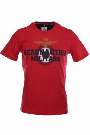 T-shirt half-sleeve maxi logo Aeronautica Militare | 34 | TS1617-19248